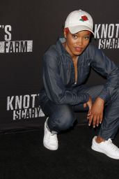 Keke Palmer – Knott's Scary Farm Opening Night in Buena Park, CA 9/30/2016