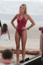 Kelly Rohrbach Filming Scenes for