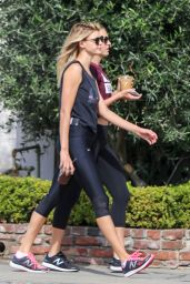 Kelly Rohrbach in Workout Gear - Outside a Pilates Class in West Hollywood, October 2016