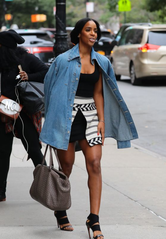 Kelly Rowland - Leaves Her Hotel in New York City 10/1/2016