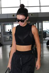 Kendall Jenner at JFK Airport in New York City 9/30/2016