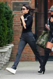 Kendall Jenner Casual Style - Leaving the Bowery Hotel in NYC, September 2016