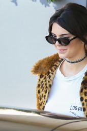 Kendall Jenner - Leaving Barneys New York in Beverly Hills 10/12/2016