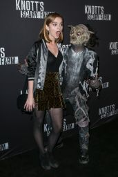 Kerris Dorsey – Knott's Scary Farm Opening Night in Buena Park, CA 9/30/2016