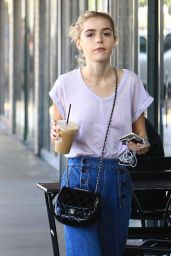 Kiernan Shipka Street Style - Out in Beverly Hills 10/18/ 2016