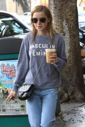 Kiernan Shipka Street Style - Out in Beverly Hills 10/24/ 2016