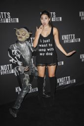 Kira Kosarin – Knott's Scary Farm Opening Night in Buena Park, CA 9/30/2016