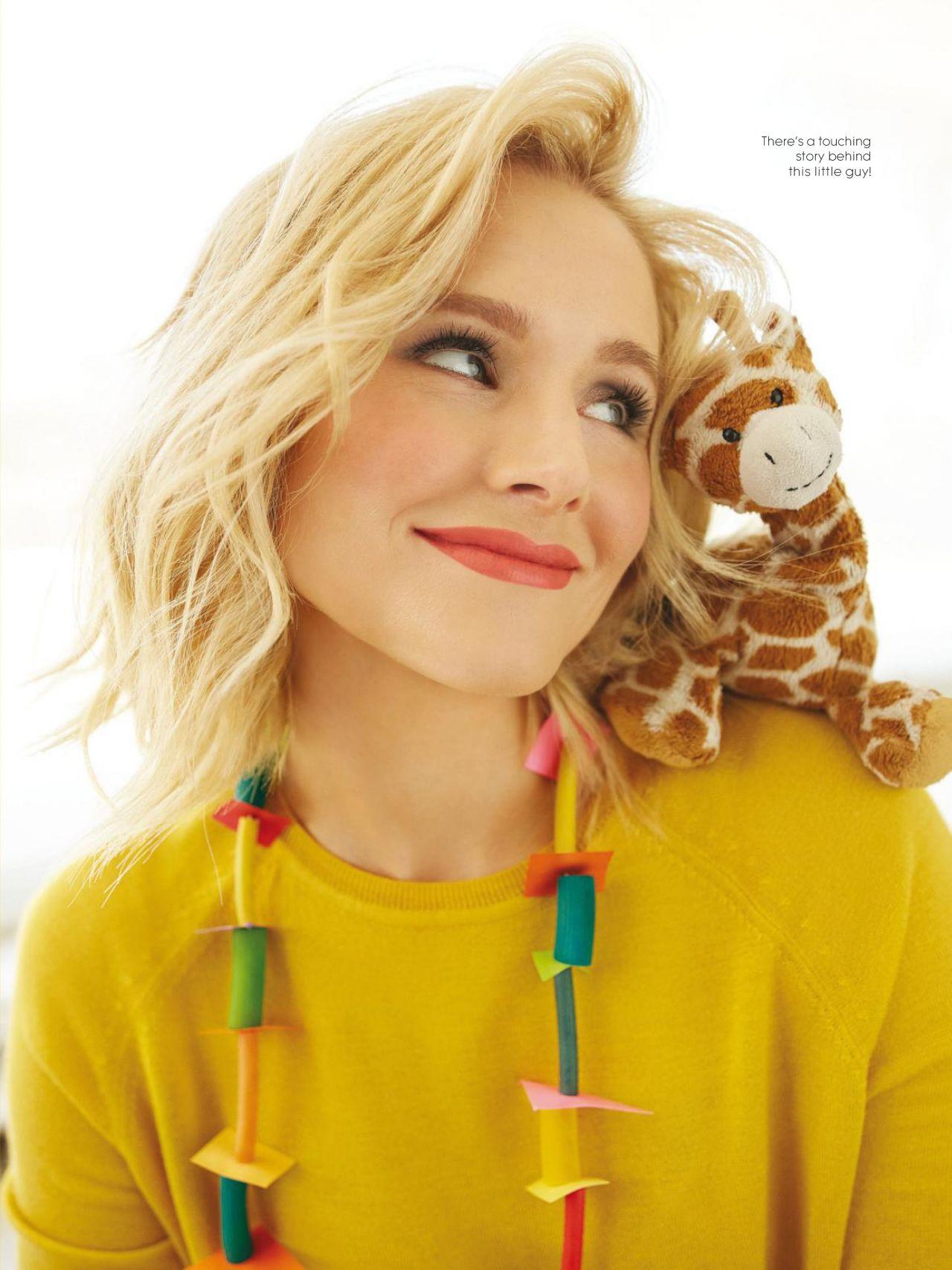 Celebrities Trands Kristen Bell Parents Magazine Usa