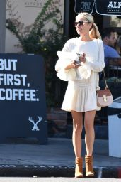 Kristin Cavallari Style - Leaving Alfred Coffee in Beverly Hills 10/8/2016