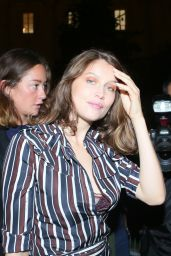 Laetitia Casta at Nina Ricci Fashion Show in Paris 10/1/2016