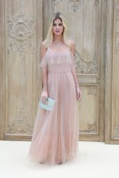 Lala Rudge at Valentino Show - Paris Fashion Week 10/2/2016