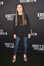Landry Bender – Knott's Scary Farm Opening Night in Buena Park, CA 9/30/2016