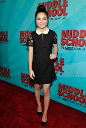 Landry Bender – 'Middle School: The Worst Years of My Life' Premiere in Los Angeles 10/05/2016