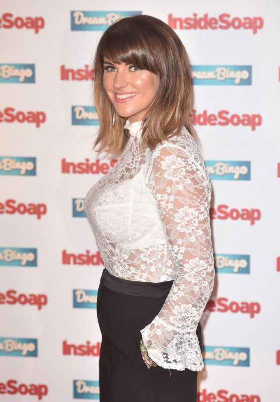 Laura Norton – Inside Soap Awards 2016 in London