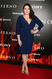 Lauren Ash – 'Inferno' Premiere in Los Angeles