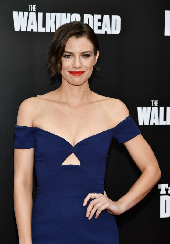 Lauren Cohan - AMC's 'Talking Dead' Season 7 Premiere in Los Angeles