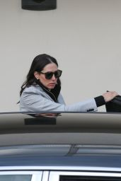 Lauren Silverman - Arriving At X Factor Rehearsals At Fountain Studios In London 10/6/2016