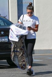 Lea Michele at the Cleaners in West Hollywood, September 2016