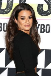 Lea Michele - Shape Magazine Ultimate Fitness Event in New York City 10/22/ 2016