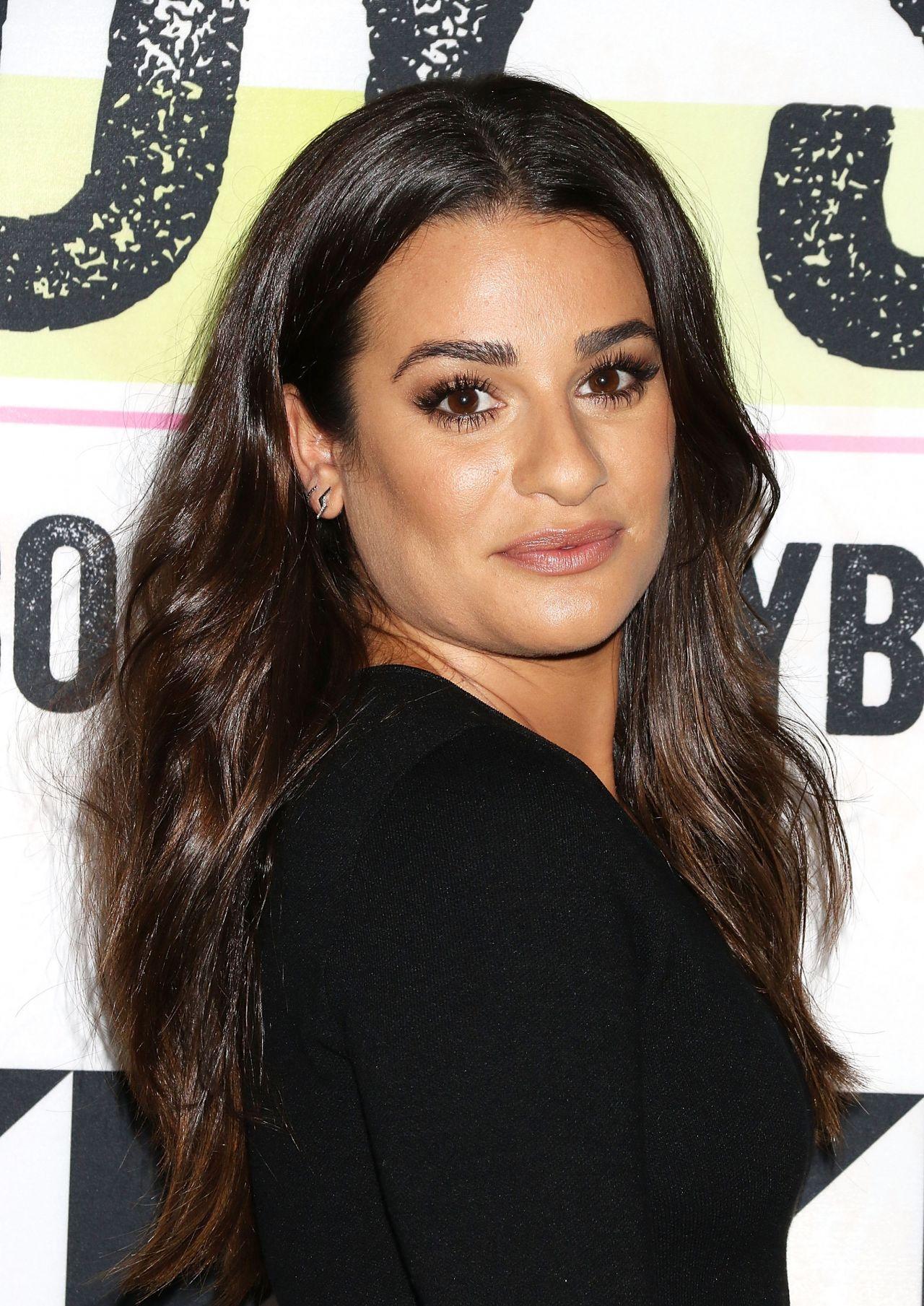 Lea Michele Shape Magazine Ultimate Fitness Event In New