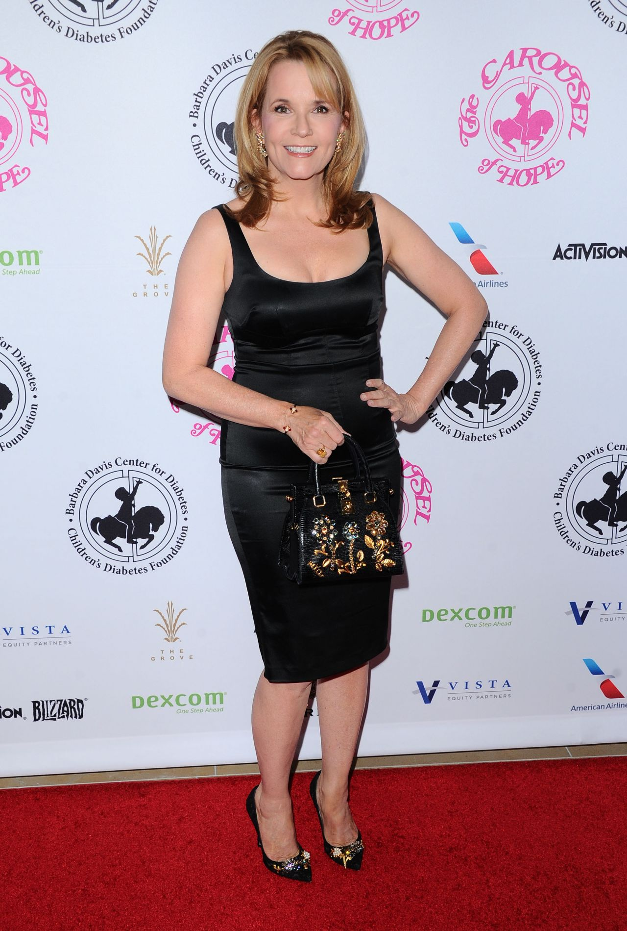 Lea Thompson Carousel Of Hope Ball In Beverly Hills 10