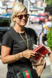 Lily Allen Street Style - New York City 10/8/2016
