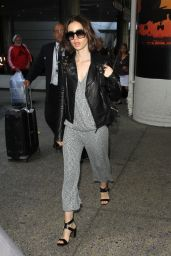 Lily Collins - Arriving at LAX Airport in Los Angeles 10/3/2016