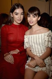 Lily Collins at Valentino Fashion Show - Paris Fashion Week 10/2/2016