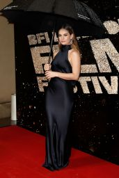 Lily James - 60th BFI London Film Festival - 10/15/ 2016