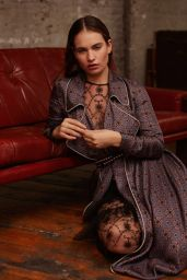 Lily James - Photoshoot for L