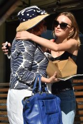 Lily-Rose Depp - Out For Lunch in West Hollywood, CA 10/10/2016