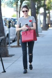 Lucy Hale - Out Getting a Coffee in Los Angeles - 10/22/2016