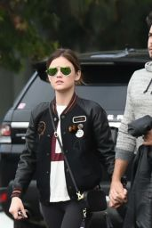 Lucy Hale - Out Running Errands in Los Angeles - 10/24/ 2016