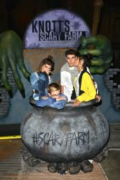Madison Beer and Jack Gilinsky – Knott's Scary Farm Opening Night in Buena Park, CA 9/30/2016