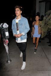 Madison Beer at Catch in West Hollywood 10/21/ 2016