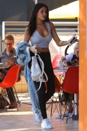 Madison Beer - Having Lunch in Studio City, October 2016