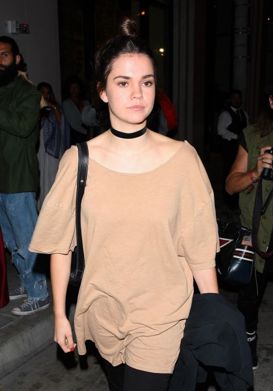 Maia Mitchell at Catch LA in West Hollywood 10/28/ 2016