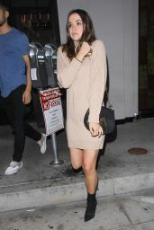 Maia Mitchell Night Out Style - Catch in West Hollywood 10/14/2016