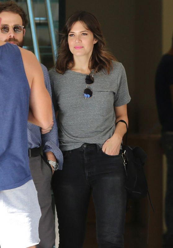 Mandy Moore - Leaving The Grove in Los Angeles 10/4/2016