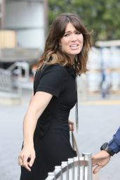 Mandy Moore on the Set of Universal Studios in Hollywood 10/11/2016