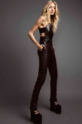 Martha Hunt - Photoshoot for Harper