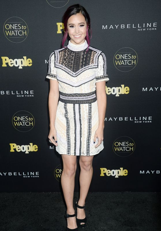 Megan Nicole – People's 'Ones to Watch' Event in Hollywood 10/13/2016