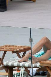 Melanie Sykes in Bikini in Ibiza by Her Hotel Pool 10/17/2016