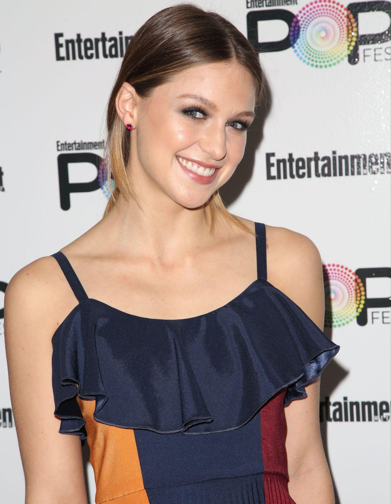 Melissa Benoist - Entertainment Weekly PopFest in Los ...