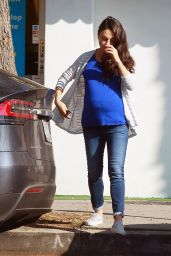Mila Kunis - Out in Studio City 10/25/2016