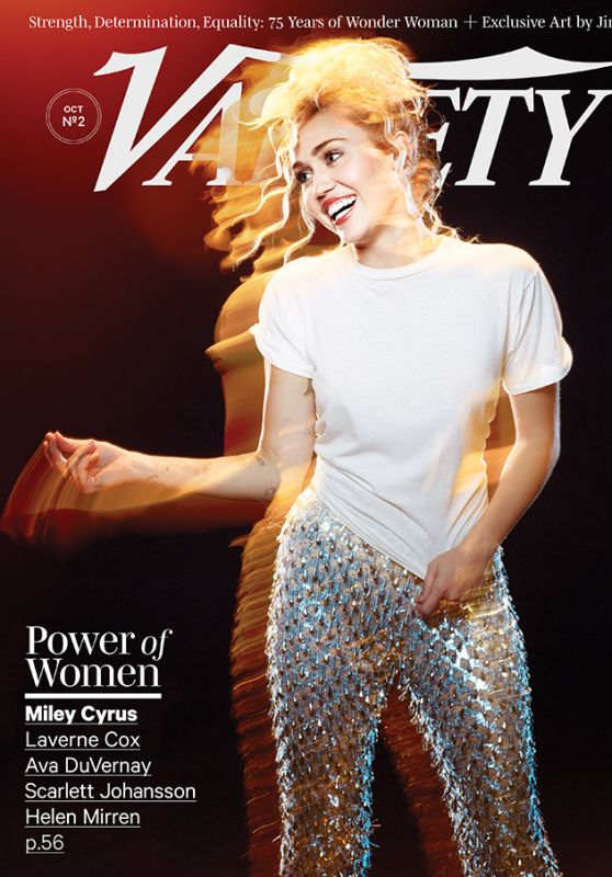Miley Cyrus - Variety Magazine October 2016