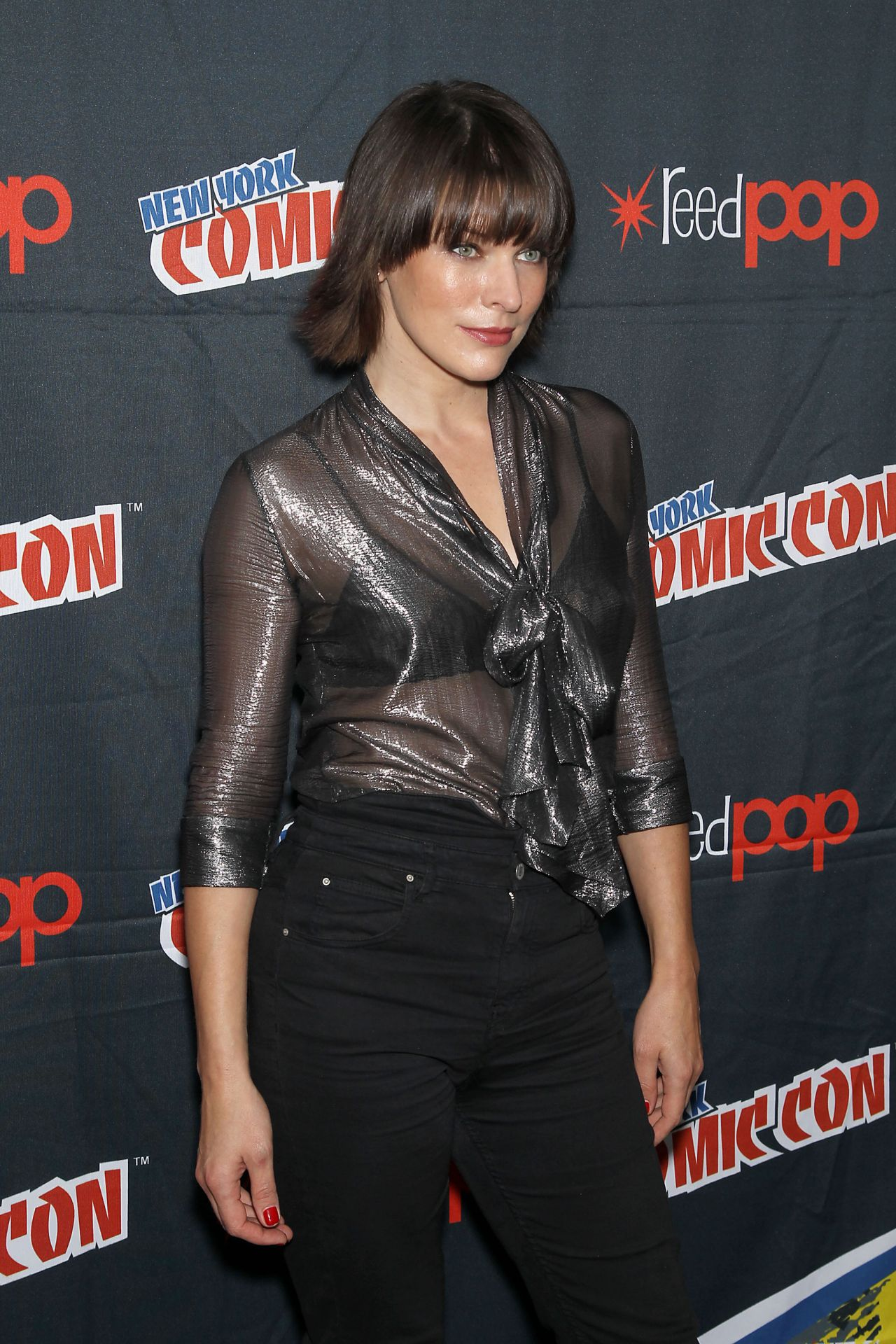 Milla Jovovich - 'Resi... Milla Jovovich Photos Hellboy