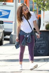Minka Kelly - Out For Lunch in Los Angeles 10/11/2016