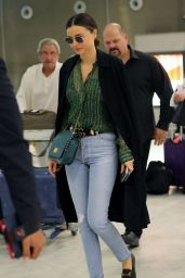Miranda Kerr at CDG Airport in Paris 10/04/2016