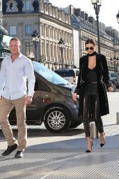 Miranda Kerr Fashion Star - in Paris During Paris Fashion Week 10/4/2016